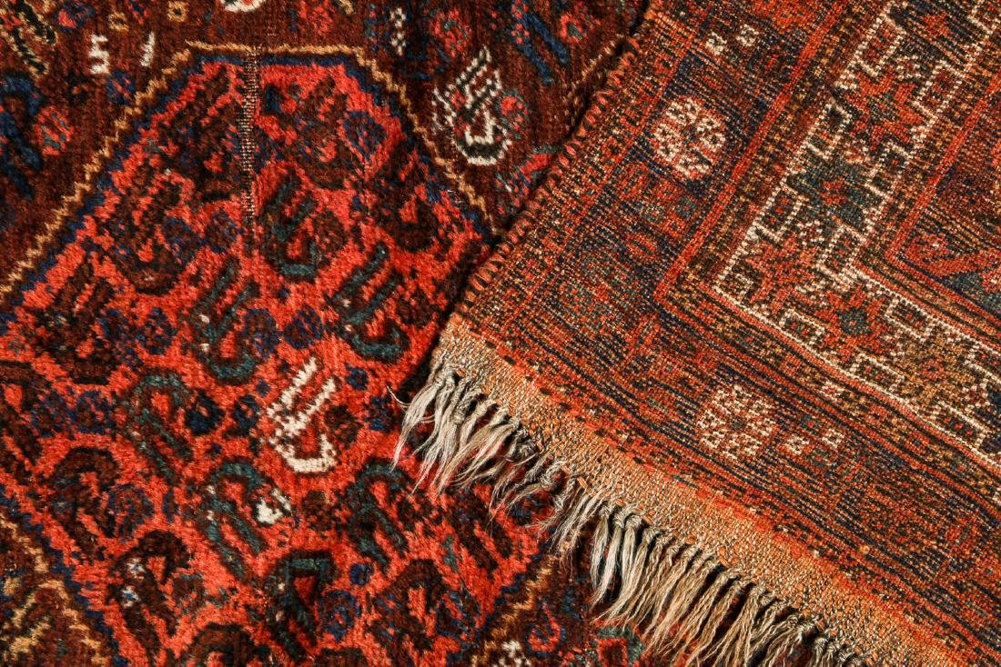 Antique Afshar Rug, Persia: 5'2'' x 6'2'' - 4