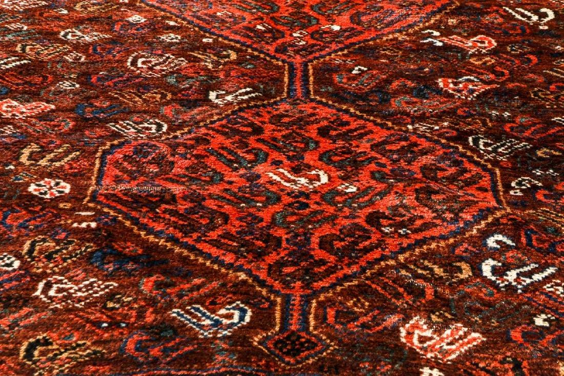 Antique Afshar Rug, Persia: 5'2'' x 6'2'' - 6