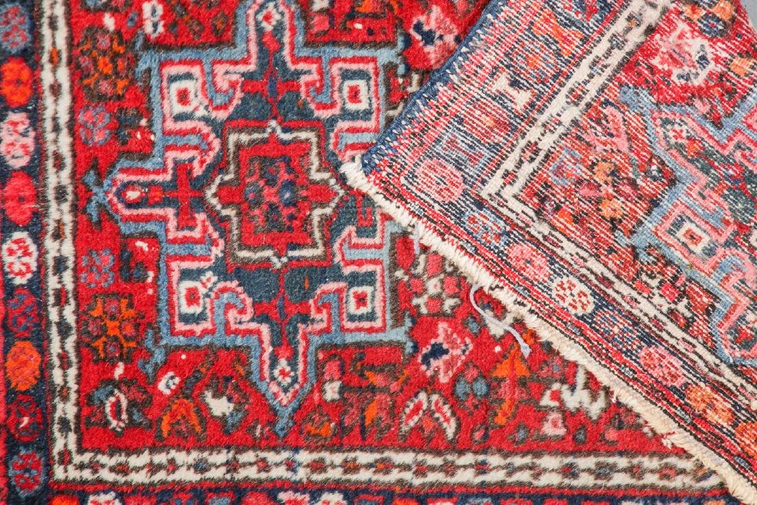 Antique Heriz and 2 Small Persian Rugs - 6