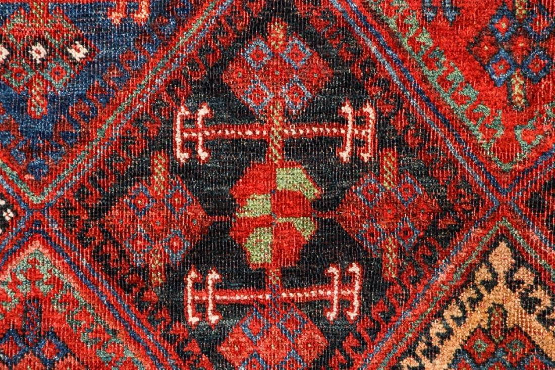 Antique Afshar Rug, Persia: 5'1'' x 5'5'' - 3