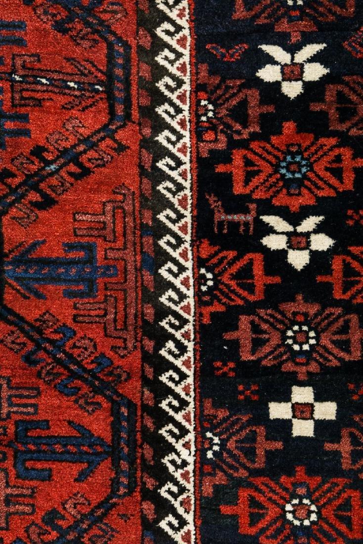 Antique Beluch Rug, Afghanistan: 3'11'' x 6'11'' - 3