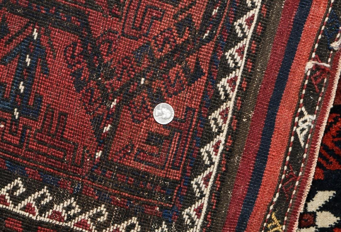Antique Beluch Rug, Afghanistan: 3'11'' x 6'11'' - 5
