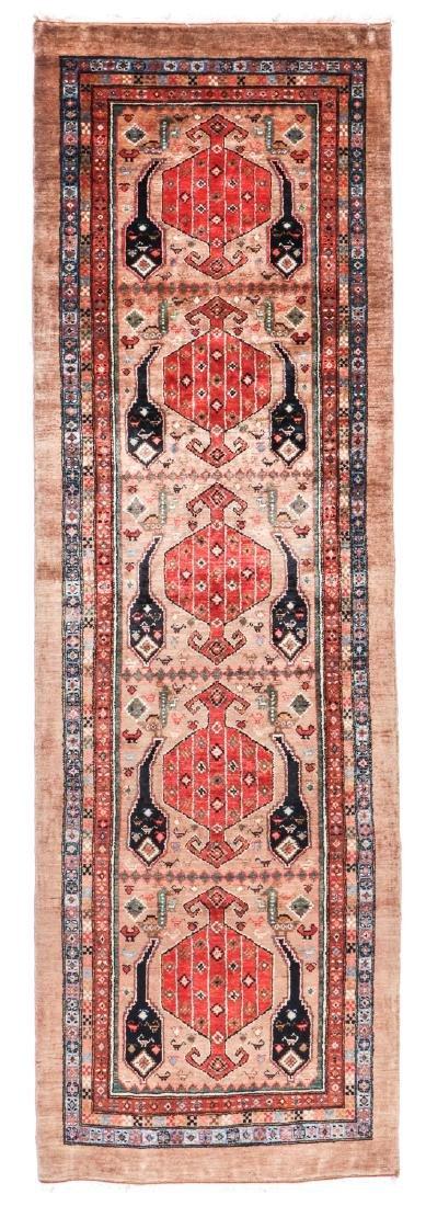 Miri Kashguli Rug, Persia: 2'10'' x 9'