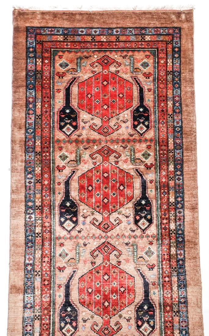 Miri Kashguli Rug, Persia: 2'10'' x 9' - 2