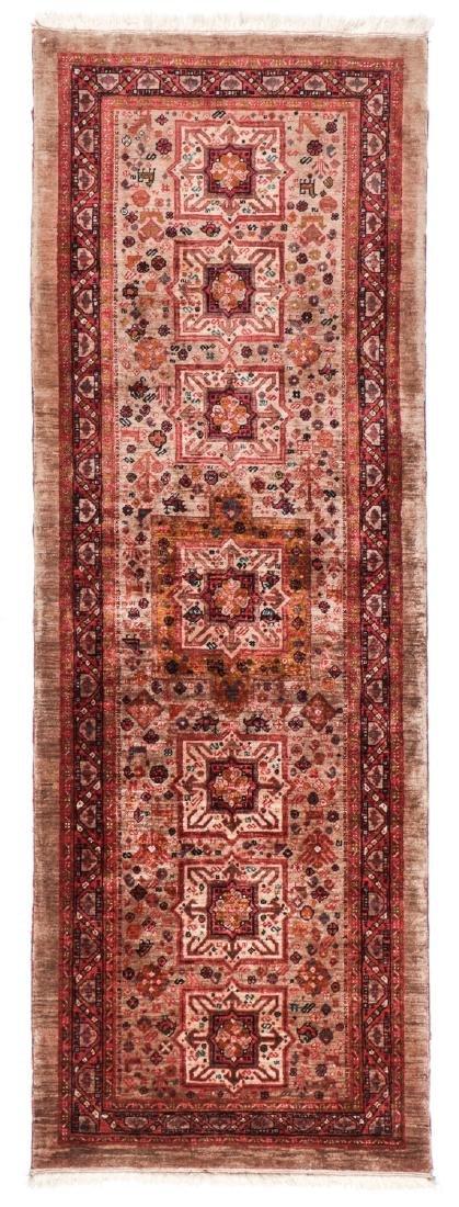 Miri Kashguli Rug, Persia: 2'7'' x 7'4''