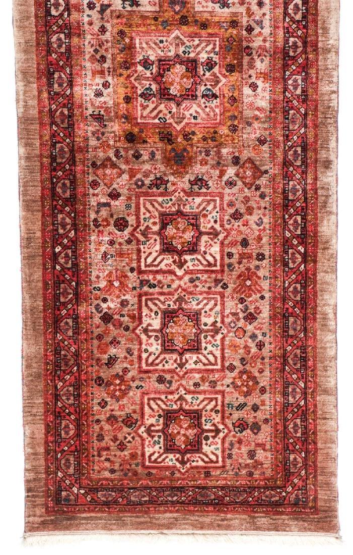Miri Kashguli Rug, Persia: 2'7'' x 7'4'' - 2