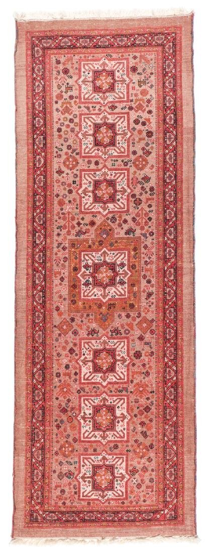 Miri Kashguli Rug, Persia: 2'7'' x 7'4'' - 6