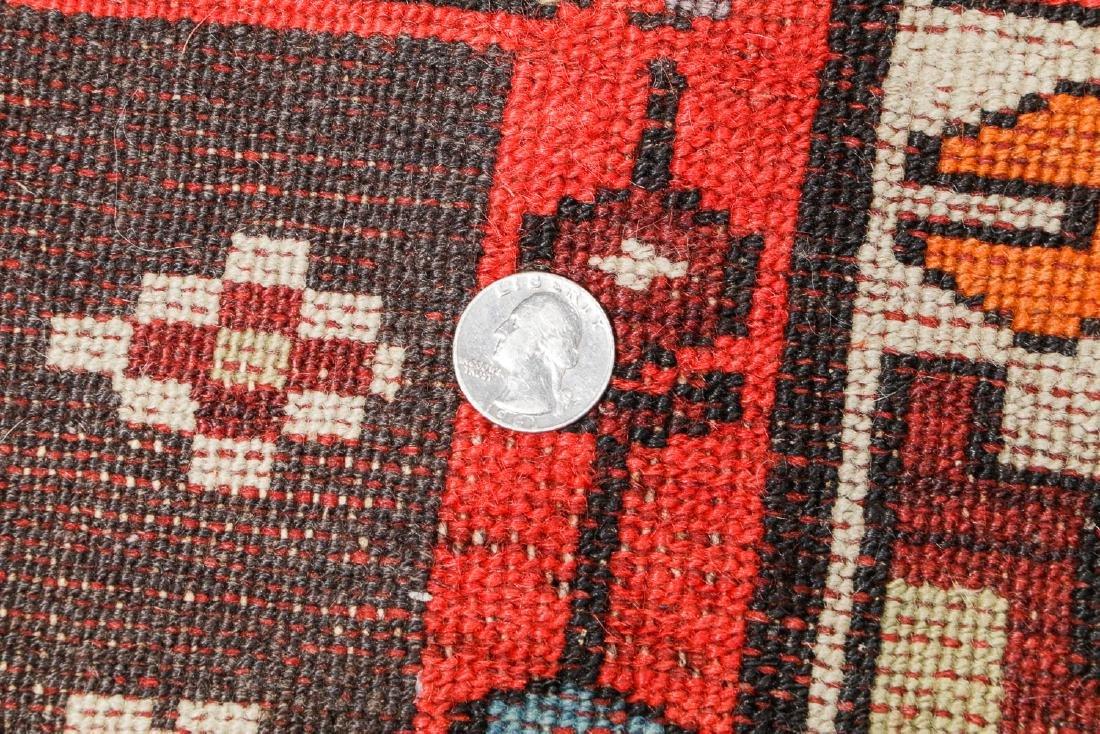 Antique West Persian Kurd Rug, Persia: 3'5'' x 10'5'' - 5