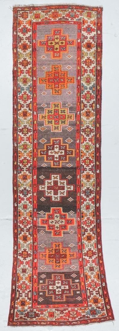 Antique West Persian Kurd Rug, Persia: 3'5'' x 10'5'' - 7