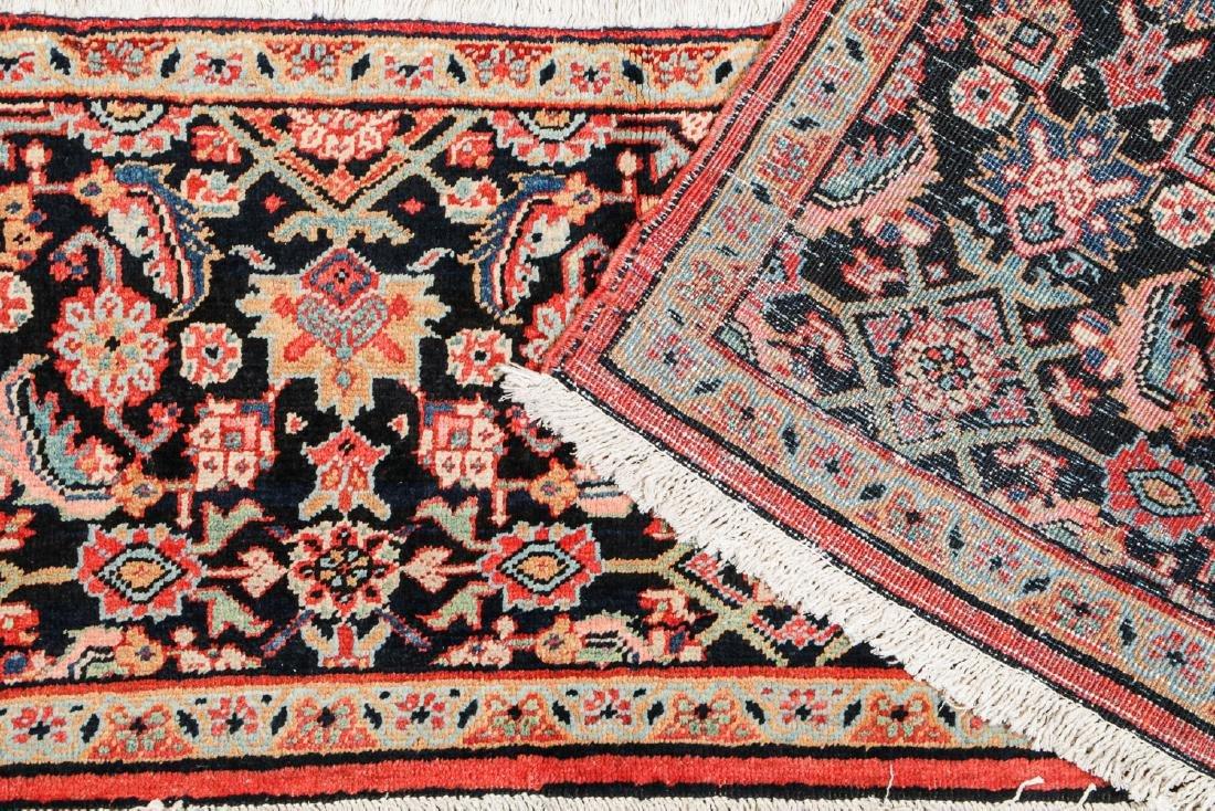 Antique Heriz Wagireh Rug, Persia: 11'6'' x 2' - 3