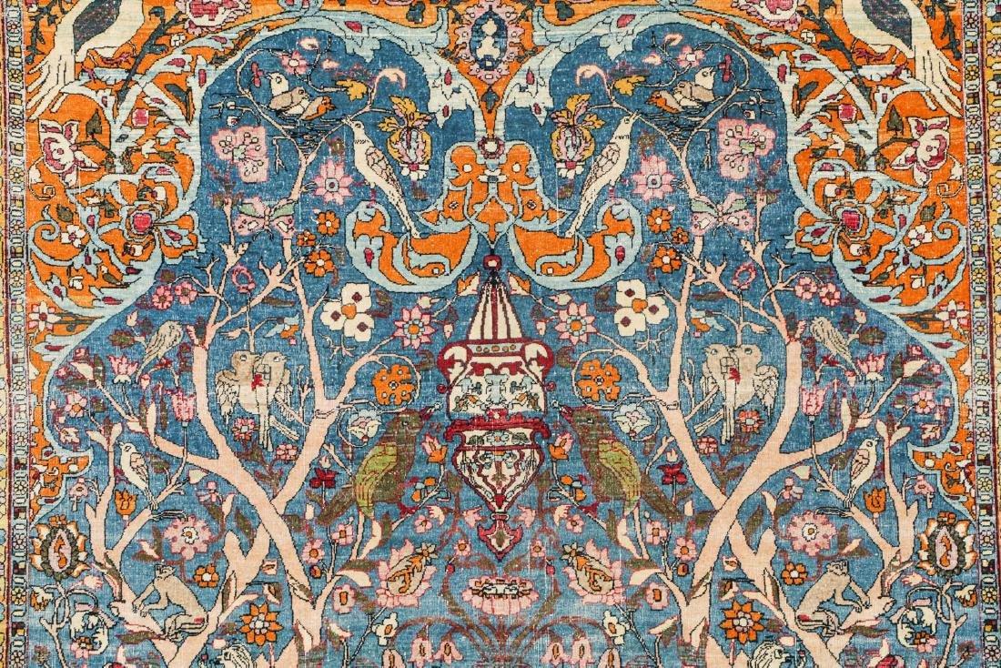 Fine Antique Tehran Rug, Persia: 6'7'' x 10'2'' - 3