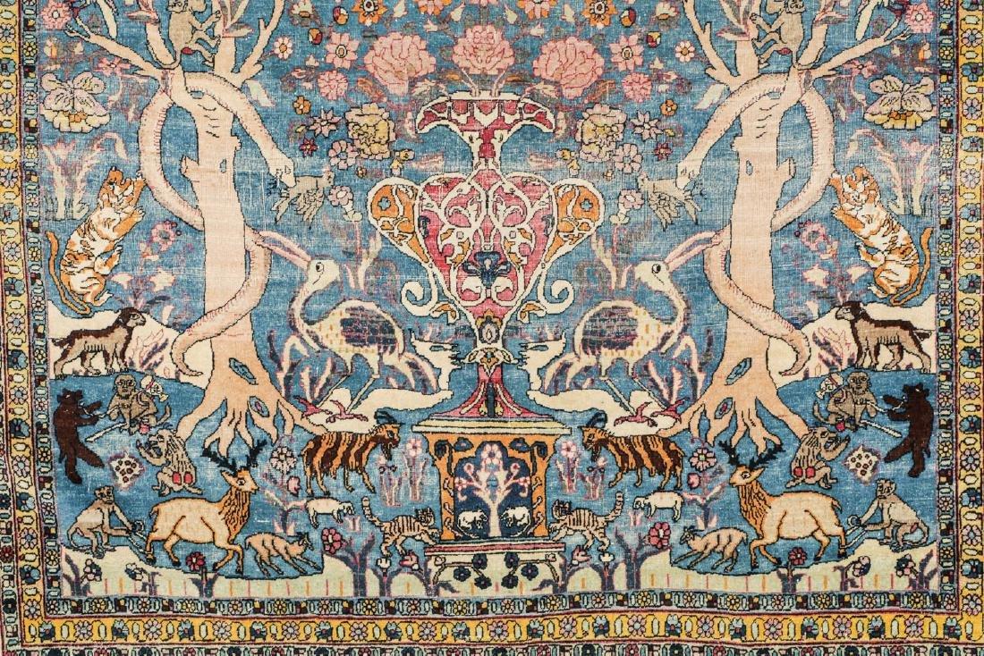 Fine Antique Tehran Rug, Persia: 6'7'' x 10'2'' - 4