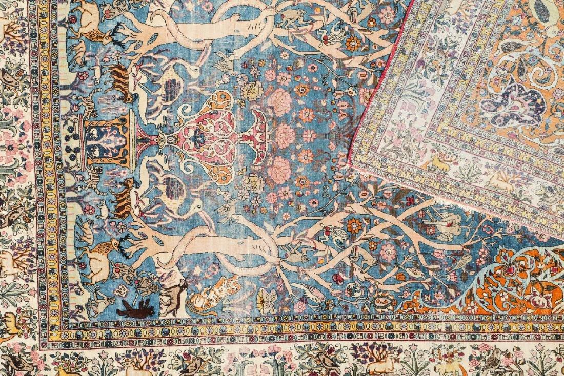Fine Antique Tehran Rug, Persia: 6'7'' x 10'2'' - 6