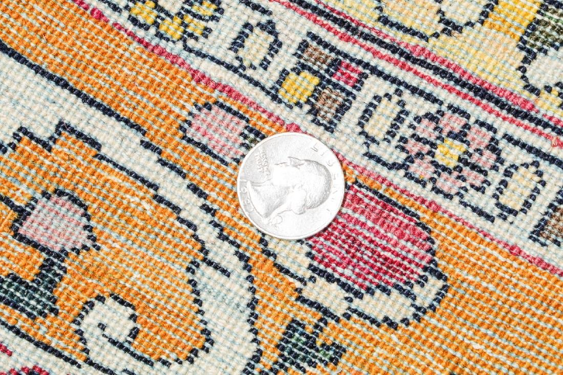 Fine Antique Tehran Rug, Persia: 6'7'' x 10'2'' - 7