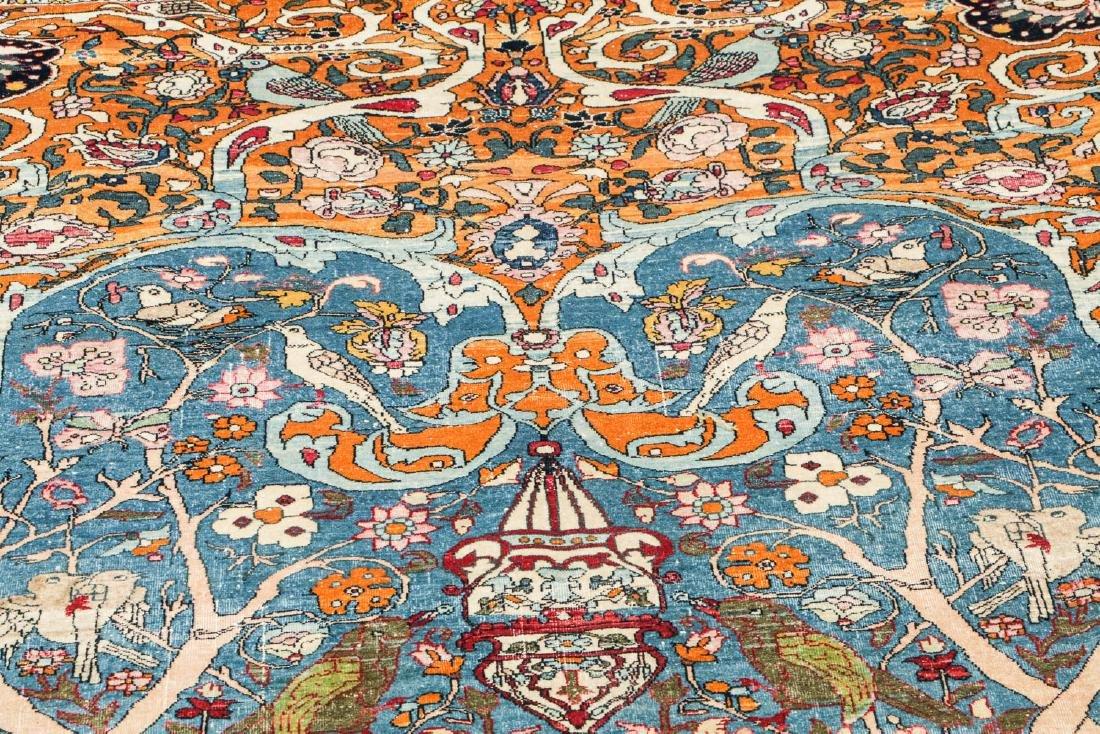 Fine Antique Tehran Rug, Persia: 6'7'' x 10'2'' - 8
