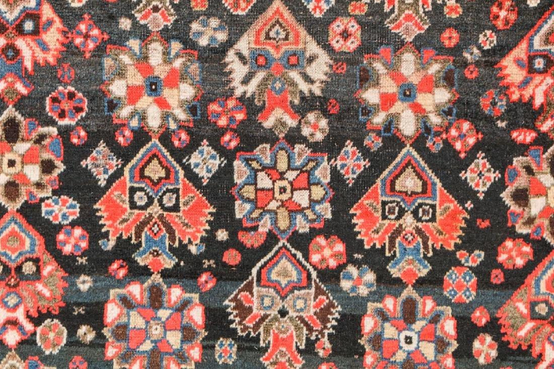 19th C. Gashgai Rug, Persia: 5'8'' x 9'8'' - 3