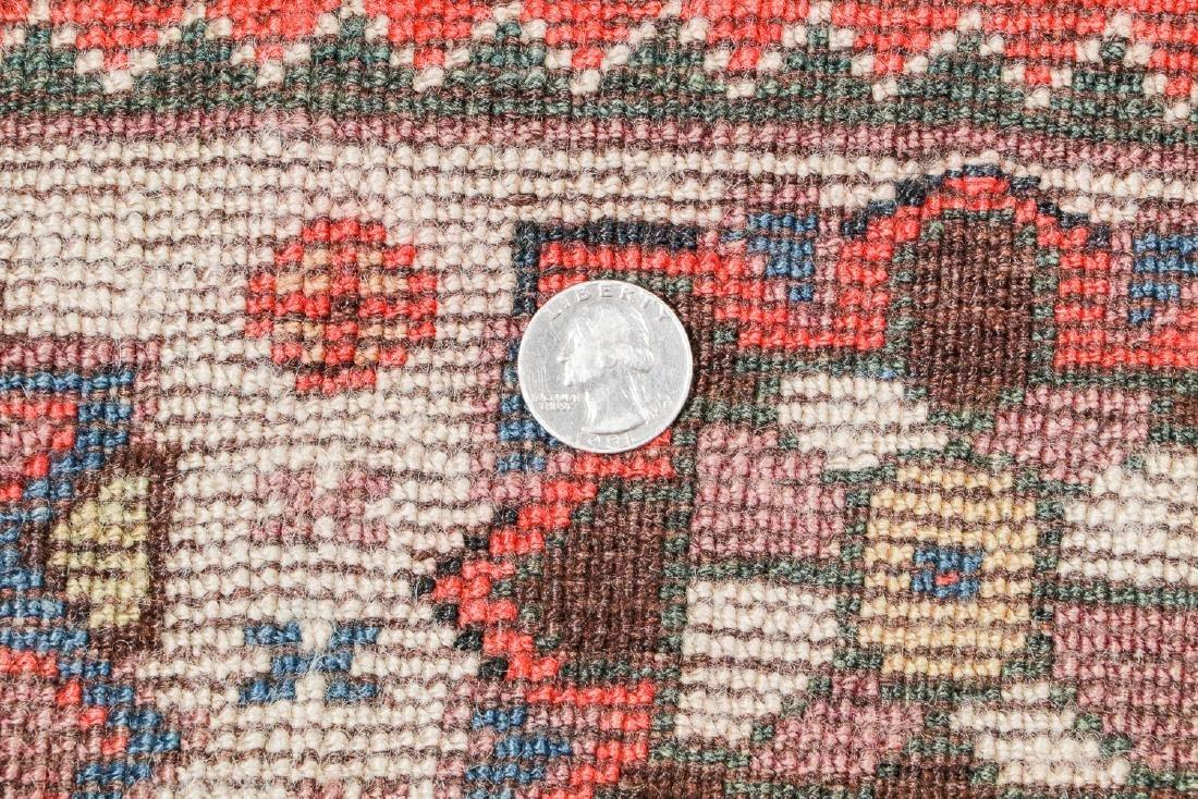19th C. Gashgai Rug, Persia: 5'8'' x 9'8'' - 5