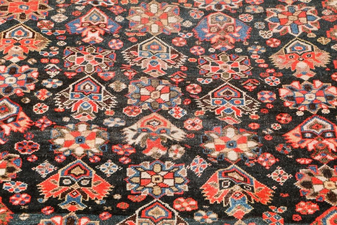 19th C. Gashgai Rug, Persia: 5'8'' x 9'8'' - 6