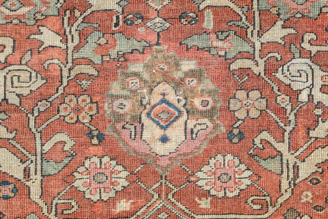 19th C. Mahal Rug, Persia: 9'1'' x 11' - 3