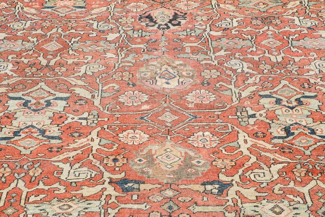 19th C. Mahal Rug, Persia: 9'1'' x 11' - 6