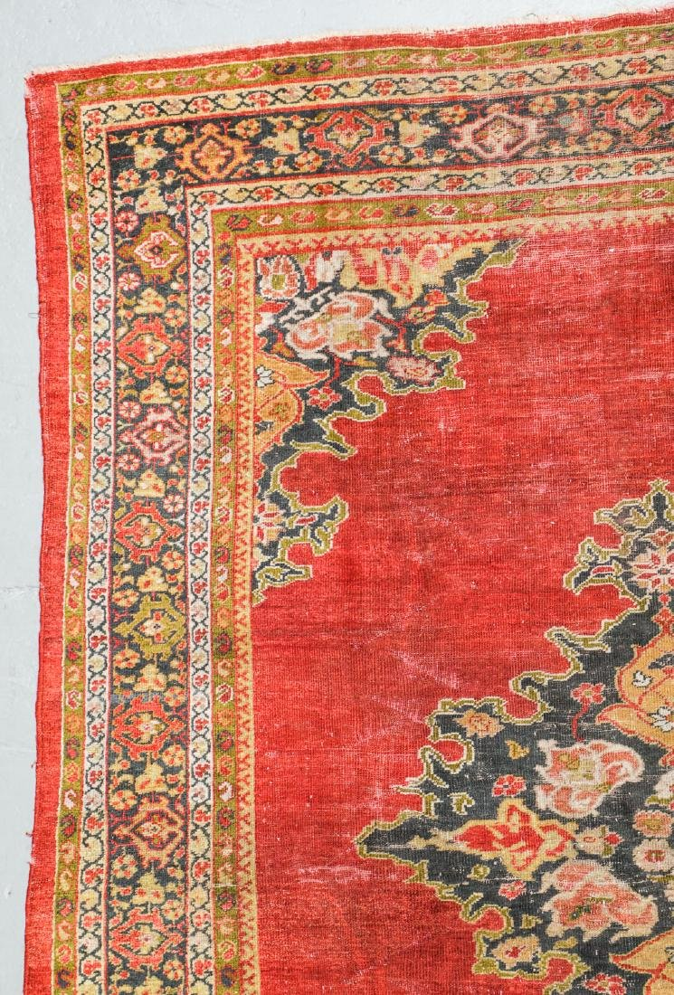 19th C. Sultanabad Rug, Persia: 7'9'' x 9'8'' - 2