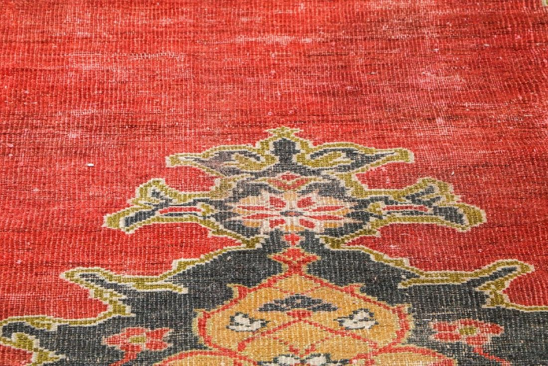 19th C. Sultanabad Rug, Persia: 7'9'' x 9'8'' - 6