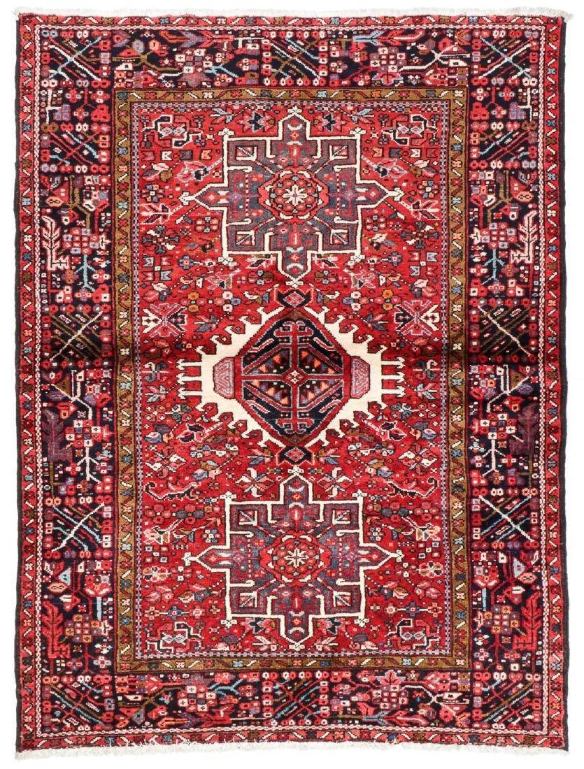 Semi-Antique Karadja Rug, Persia: 4'8'' x 6'2''