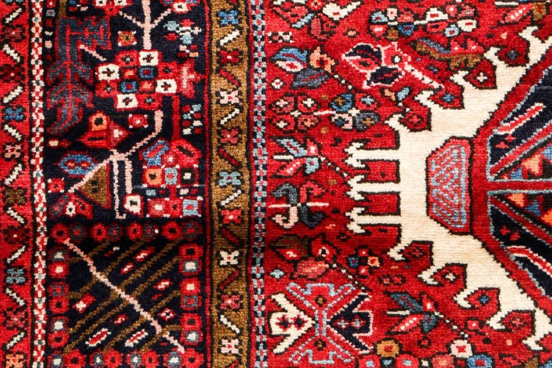 Semi-Antique Karadja Rug, Persia: 4'8'' x 6'2'' - 3