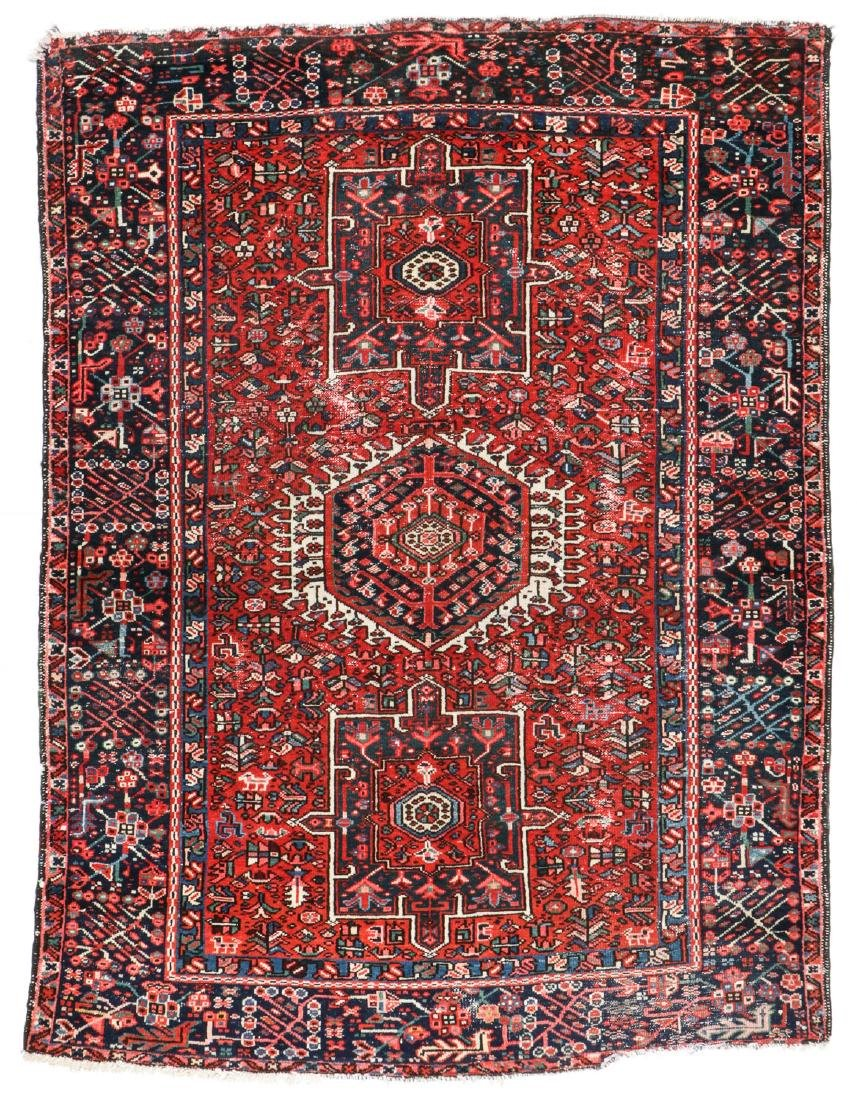 Semi-Antique Karadja Rug, Persia: 4'10'' x 6'1''