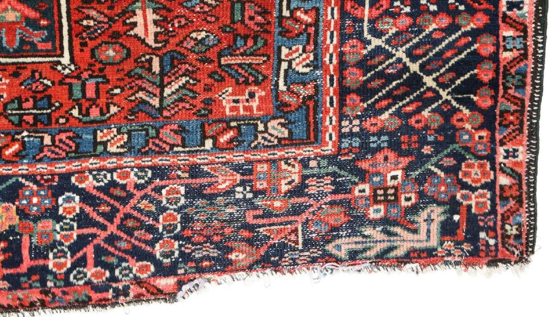 Semi-Antique Karadja Rug, Persia: 4'10'' x 6'1'' - 4