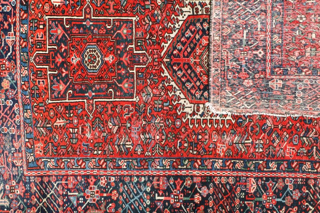 Semi-Antique Karadja Rug, Persia: 4'10'' x 6'1'' - 5