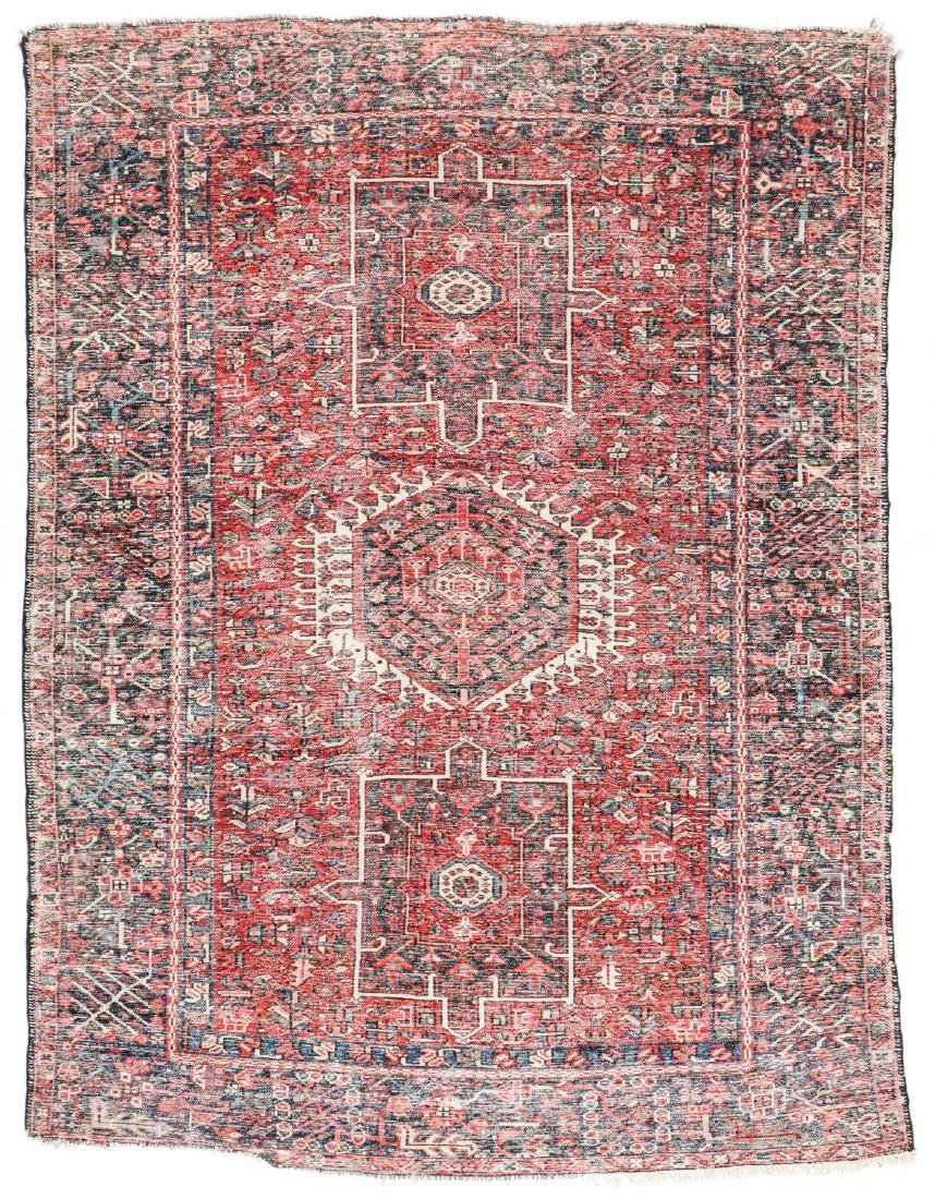 Semi-Antique Karadja Rug, Persia: 4'10'' x 6'1'' - 7