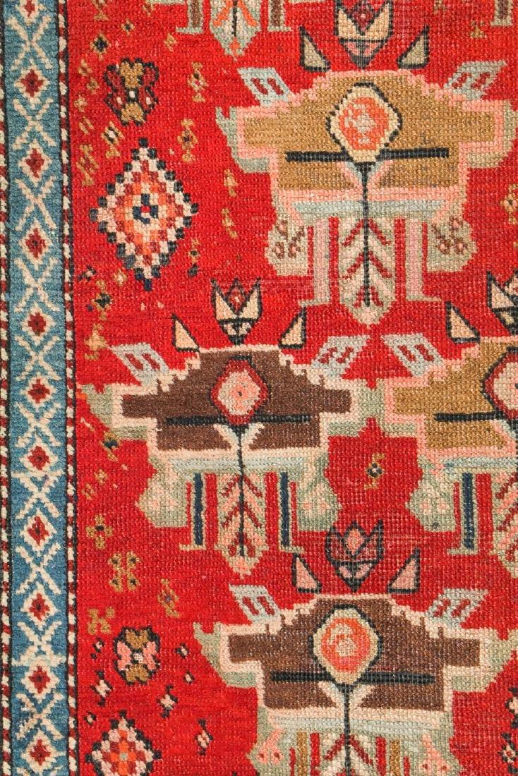 Antique Karabagh Rug, Caucasus: 3'3'' x 8'11'' - 3