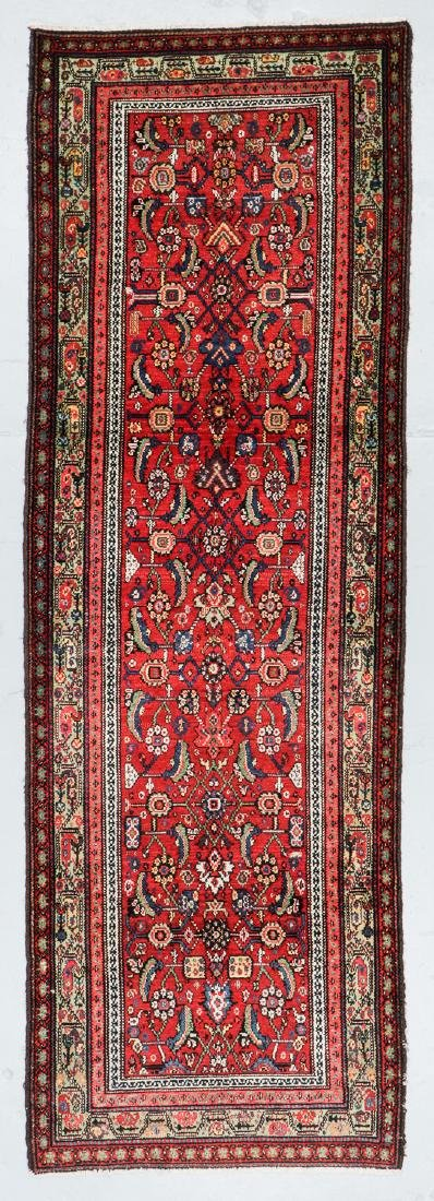 Antique Ferahan Rug, Persia: 3'8'' x 10'9''