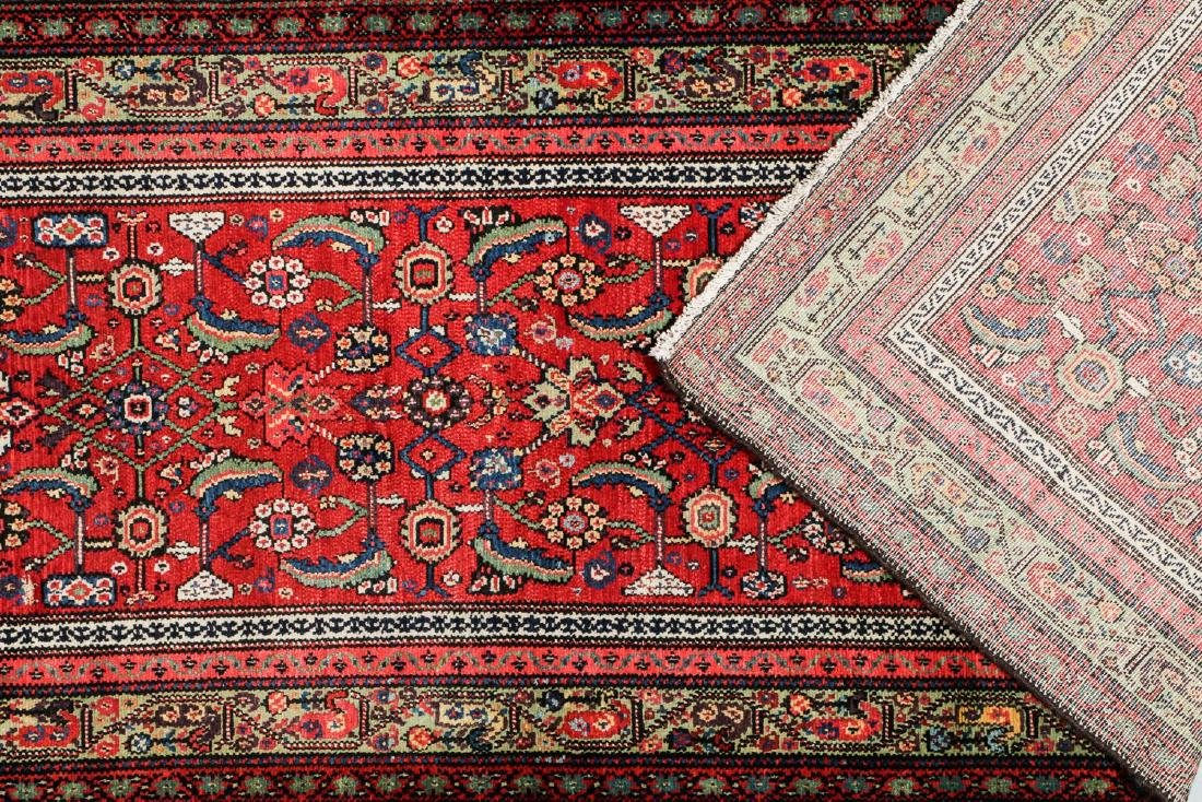 Antique Ferahan Rug, Persia: 3'8'' x 10'9'' - 4