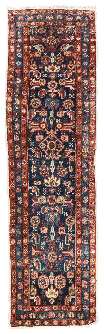 Antique Heriz Rug, Persia: 2'6'' x 8'7''