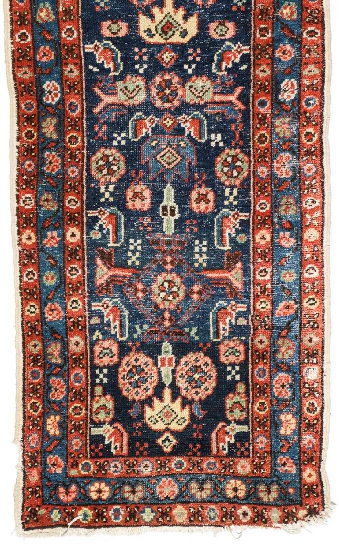 Antique Heriz Rug, Persia: 2'6'' x 8'7'' - 2