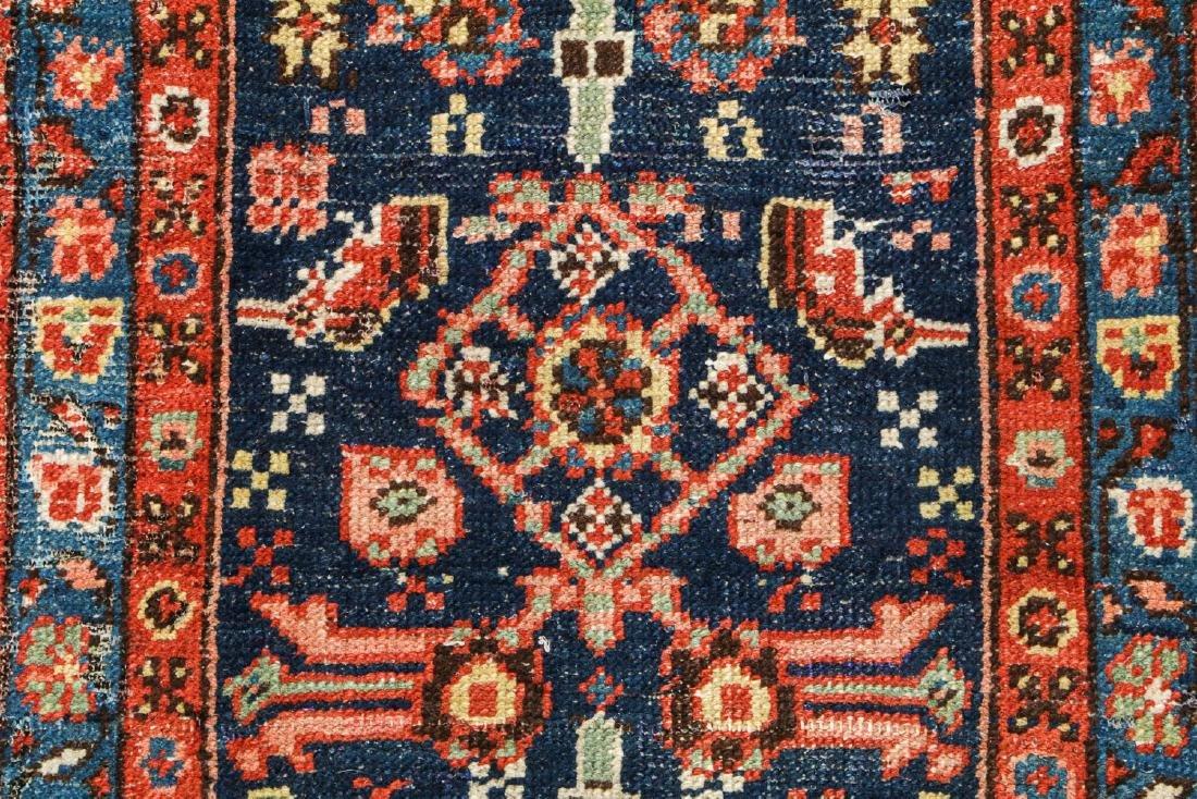 Antique Heriz Rug, Persia: 2'6'' x 8'7'' - 3