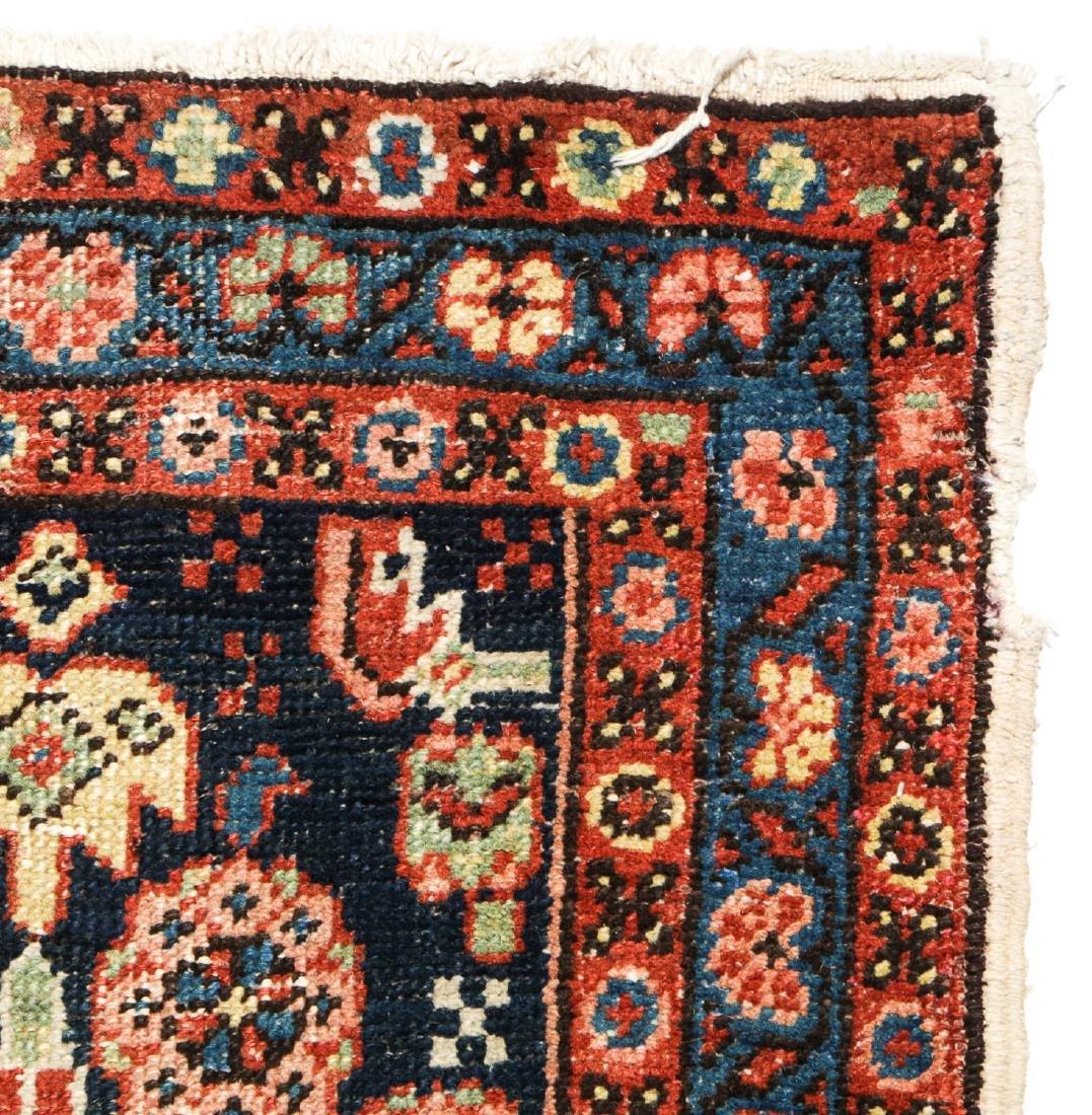 Antique Heriz Rug, Persia: 2'6'' x 8'7'' - 4