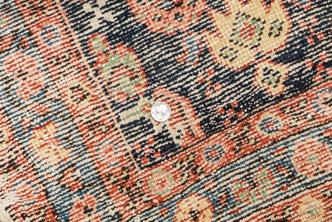 Antique Heriz Rug, Persia: 2'6'' x 8'7'' - 6