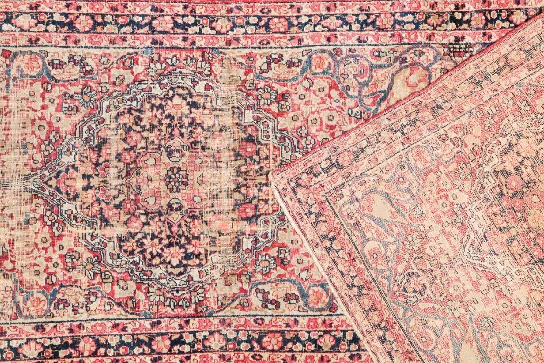 19th C. Lavar Kerman Rug , Persia: 2'9'' x 11'4'' - 4