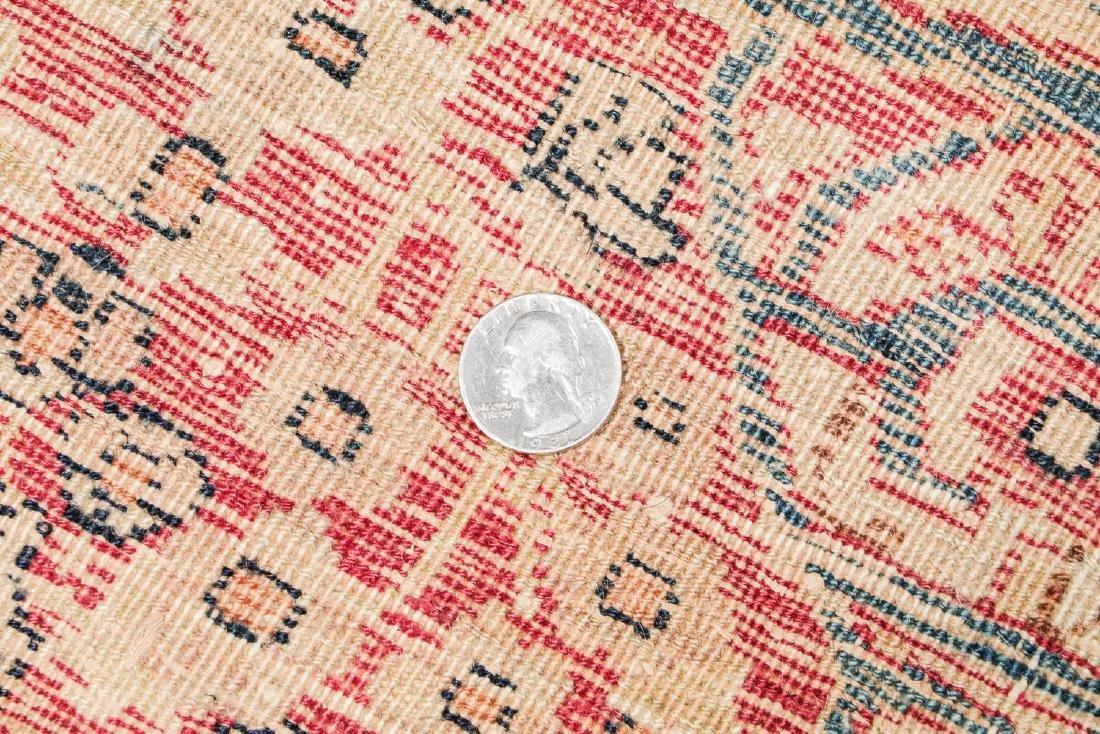 19th C. Lavar Kerman Rug , Persia: 2'9'' x 11'4'' - 5