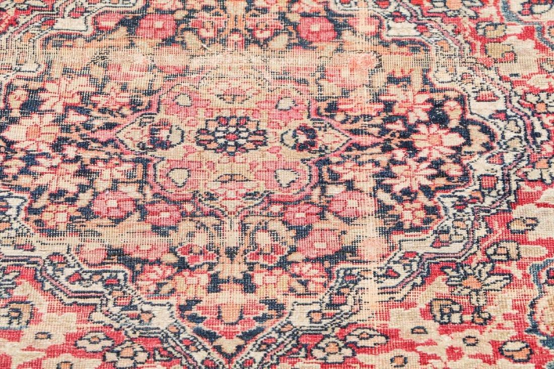 19th C. Lavar Kerman Rug , Persia: 2'9'' x 11'4'' - 6