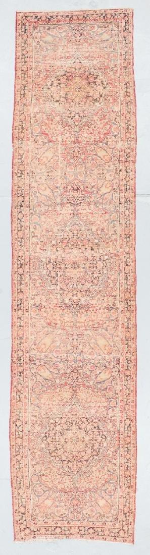 19th C. Lavar Kerman Rug , Persia: 2'9'' x 11'4'' - 7