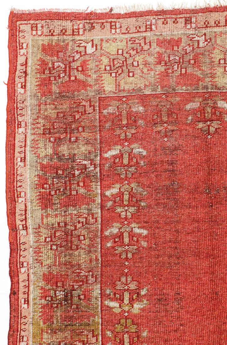 Antique Oushak Rug, Turkey: 5'3'' x 6'8'' - 2