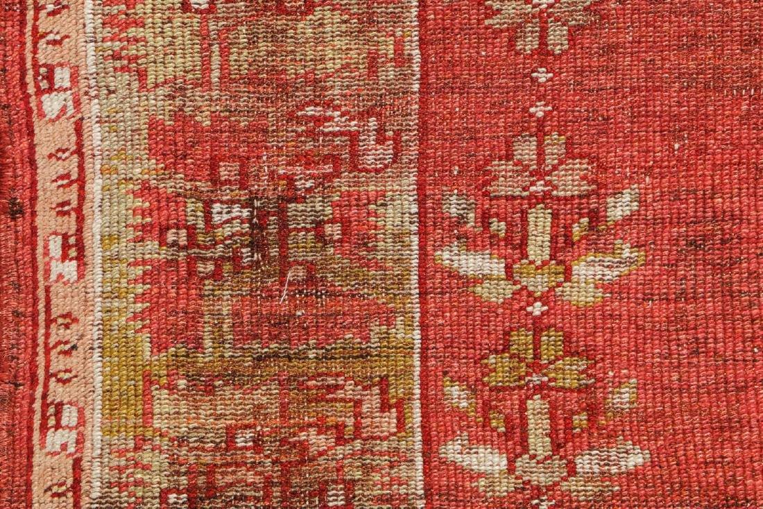 Antique Oushak Rug, Turkey: 5'3'' x 6'8'' - 3