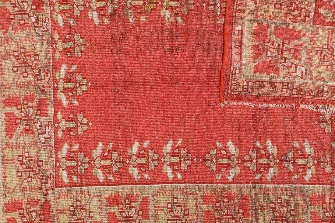 Antique Oushak Rug, Turkey: 5'3'' x 6'8'' - 4