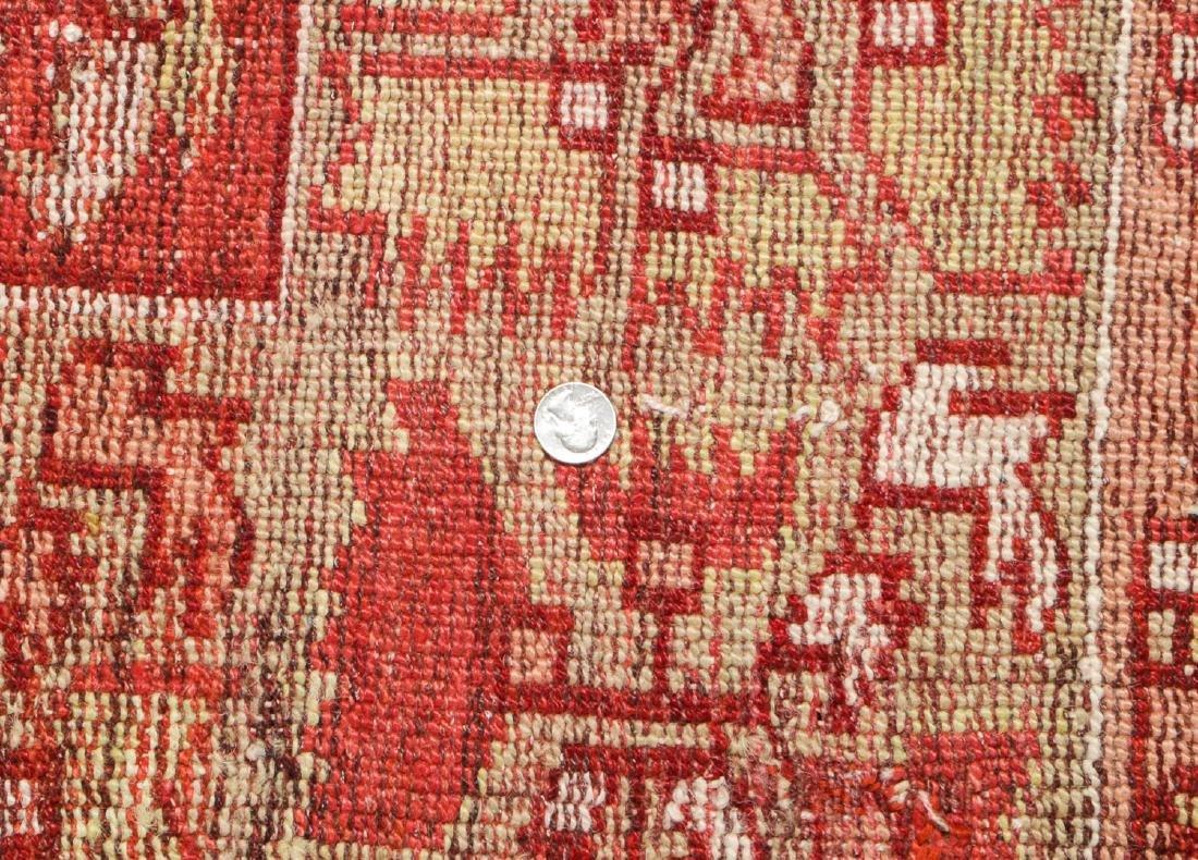Antique Oushak Rug, Turkey: 5'3'' x 6'8'' - 5