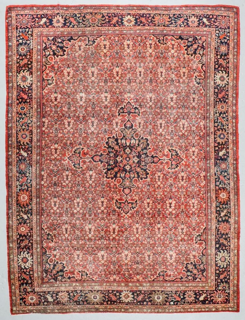 Antique Mahal Rug, Persia: 10'3'' x 13'7''