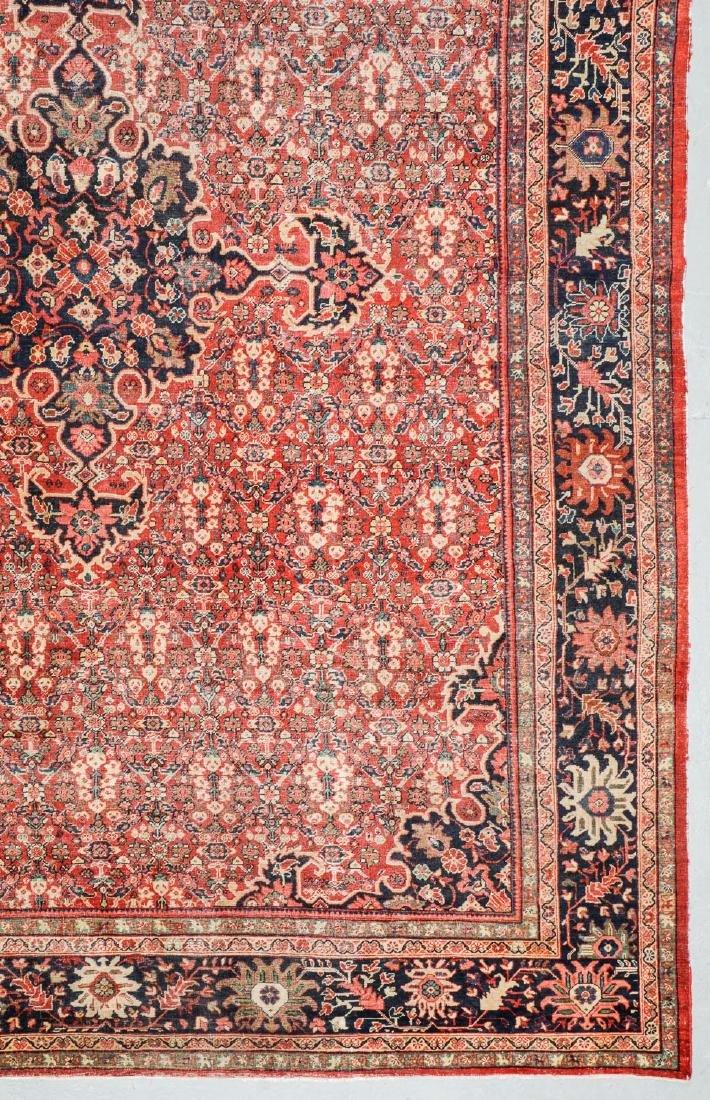 Antique Mahal Rug, Persia: 10'3'' x 13'7'' - 2